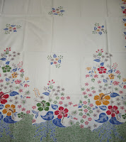 Kain Batik PutihAyu 004 Hijau