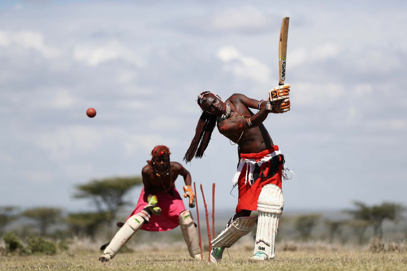 25 Of The Most Intriguing Pictures Of 2017 - Maasai Cricket Warriors