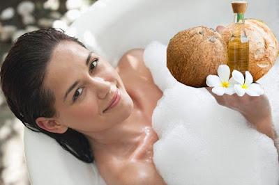 Cách làm trắng da tại nhà hiệu quả bằng dầu dừa (5)