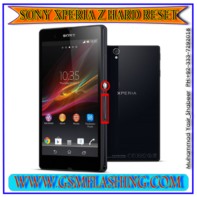 HOW TO SONY XPERIA Z HARD RESET AND FACTORY FARMAT