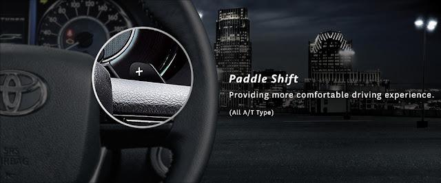 Teknologi Padle Shift Toyota New Fortuner