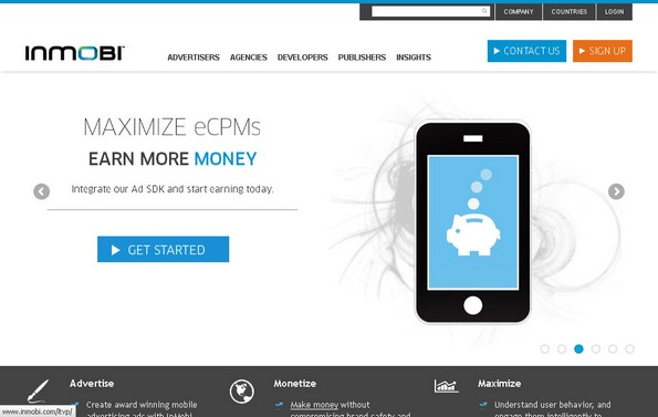 InMobi mobile ad network