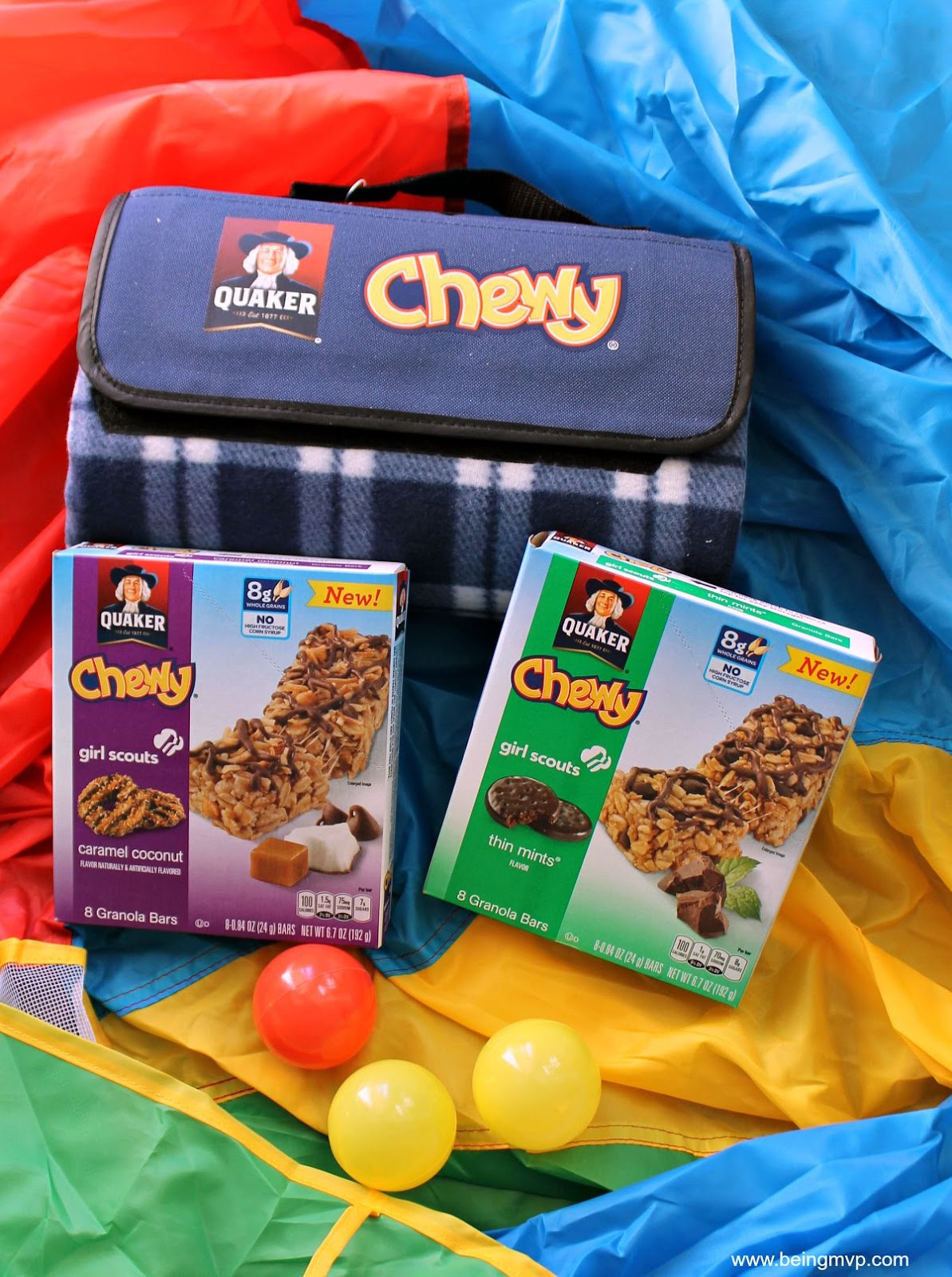 being MVP New Quaker Chewy Girl Scouts Granola Bars
