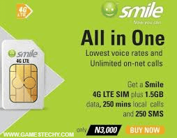 Smile All in One SIM