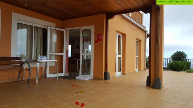 La residencia de mayores de Puntallana permite ya la visita de familiares de manera regulada