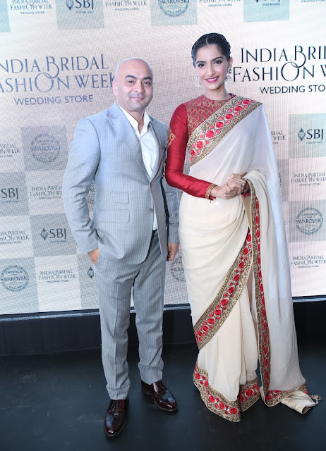 Mr. Vijay Singh Founder and CEO IBFW with  Sonam Kapoor