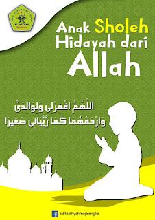 Anak sholeh hidayah dari allah - sdit al afiyah majalengka