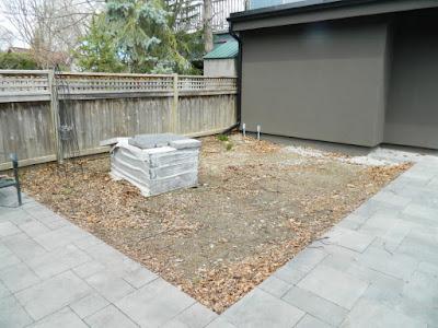 the danforth Toronto garden design before  by garden muses--not another Toronto gardening blog