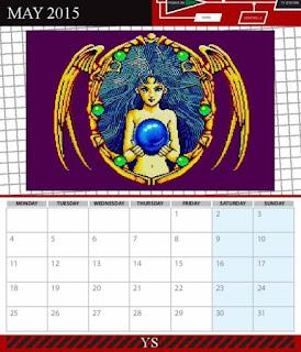 Sunteam: Calendario Sega Master System 2015