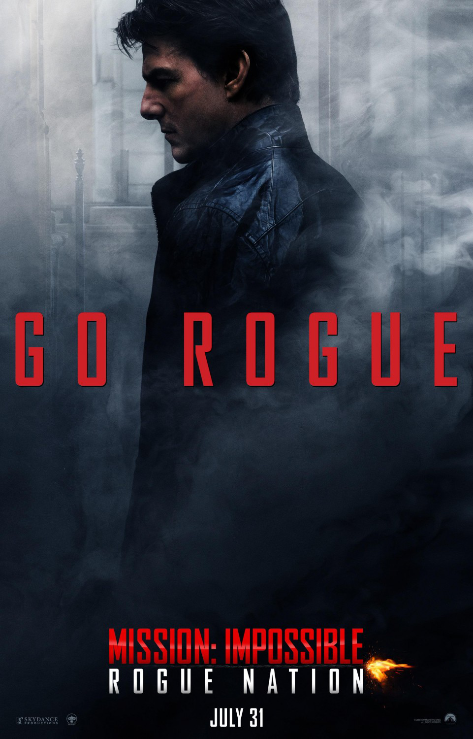 Mission Impossible: Rogue Nation Poster - Tom Cruise
