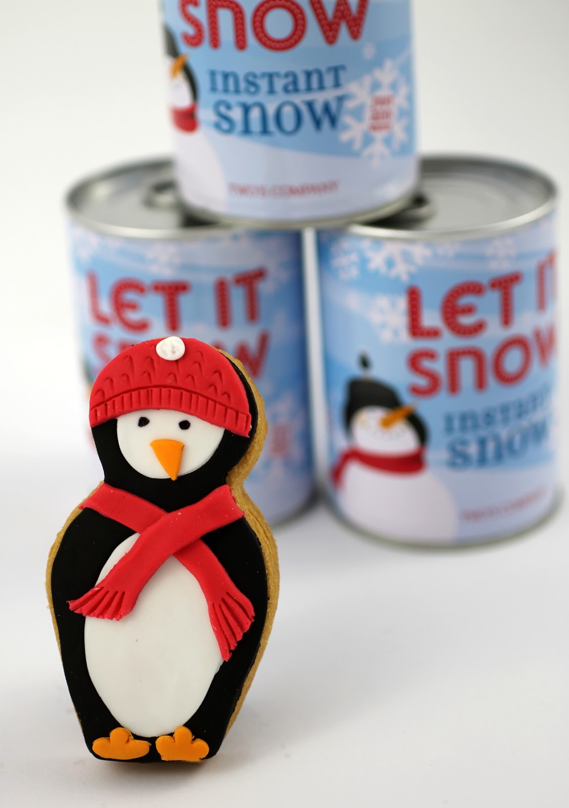 Bubble And Sweet Penguin Nesting Doll Christmas Cookies
