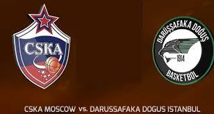 CSKA Moskova - Darüşşafaka Canli Maç İzle 18 Ekim 2018