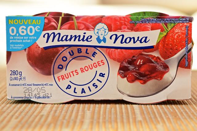 Mamie Nova, Yaourt, Dessert, Double Plaisir Mamie Nova, Nouveauté alimentaire 2019, Kiwi, Mangue, Fruits rouges