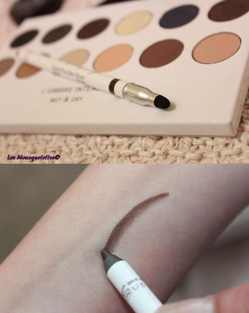 Crayon à yeux - Deep Velvet - L'Atelier Maquillage Paris - Blog beauté Les Mousquetettes©
