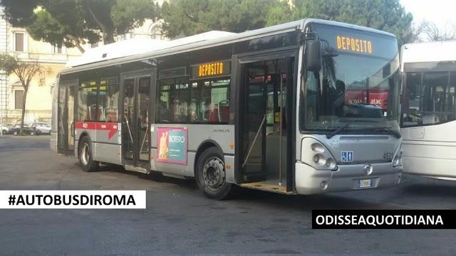 #AutobusDiRoma - Irisbus Citelis CNG: 24 nuovi bus per sostituire 24 bus andati flambè!