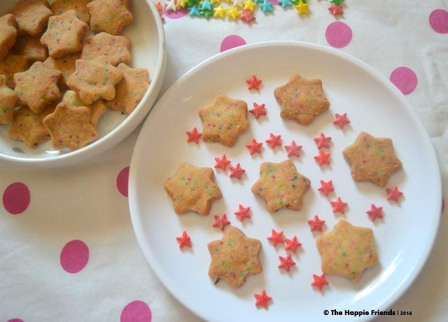 Funfetti short bread cookies