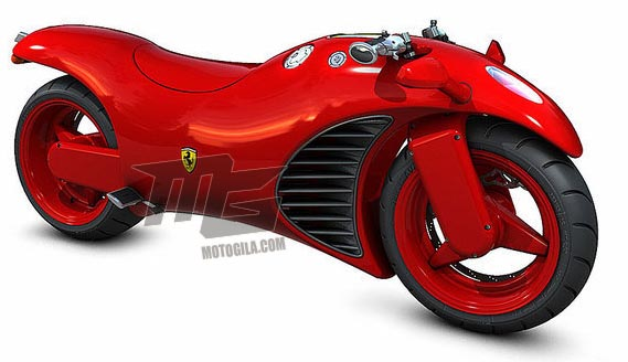 foto motor ferrari v4 konsep masa depan