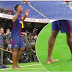 Barcelona Latest Signing Performs His 'Ritual' During His Unveiling Today (Photos)