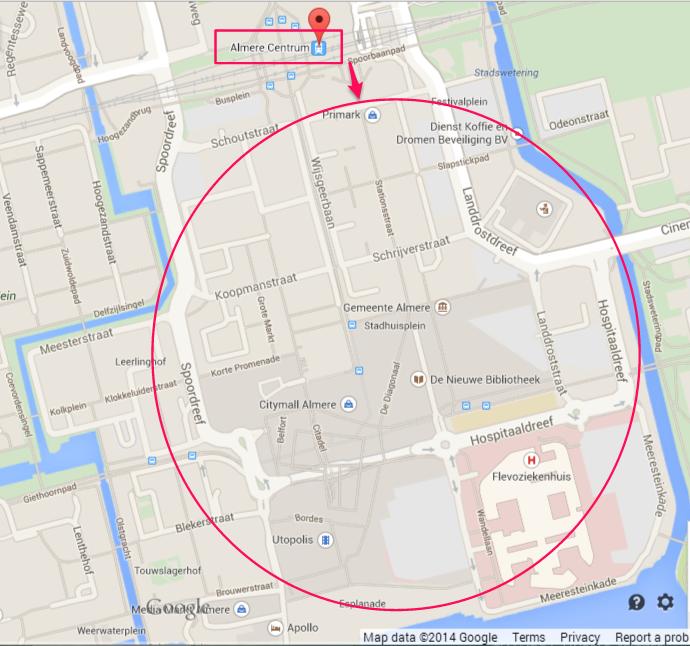 Almere City Map