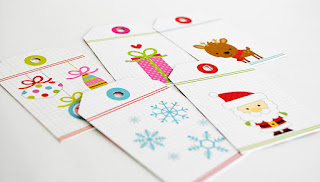 Christmas Tags By Wendy Sue Anderson for Doodlebug Design