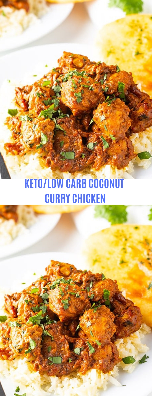 KETO/LOW CARB COCONUT CURRY CHICKEN