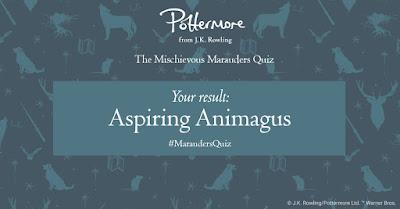53-73%: Aspirante Animagus (Aspiring Animagus)