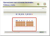 http://www3.gobiernodecanarias.org/medusa/eltanquematematico/todo_mate/openumdec/resta_dec/resta_dec.html