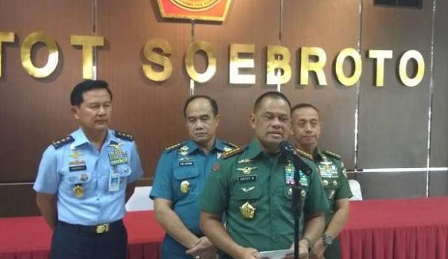 Panglima TNI Diminta Ungkap Siapa Pengimpor 5.000 Pucuk Senjata Ilegal