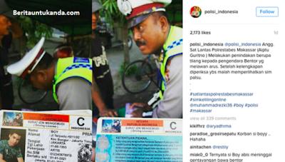 postingan instagram akun polisi_indonesia