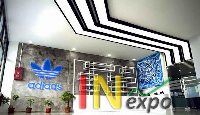 INTERIOR ADIDAS OFFICE AT ADIDAS FACTORY SERANG BANTEN Inexpo Konrtaktor Booth Pameran