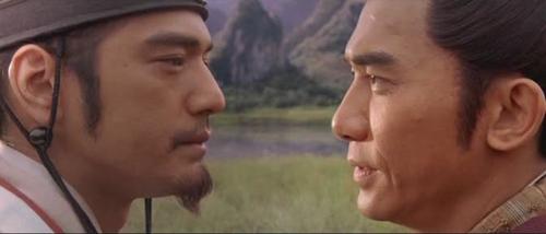 ขงเบ้ง กับ จิวยี่ ในภาพยนตร์สามก๊ก โจโฉแตกทัพเรือ