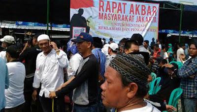 Mantan Panglima TNI Djoko Santoso dukung perjuangan ribuan warga Luar Batang