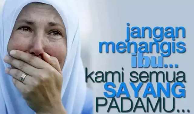 caption hari Ibu - Google