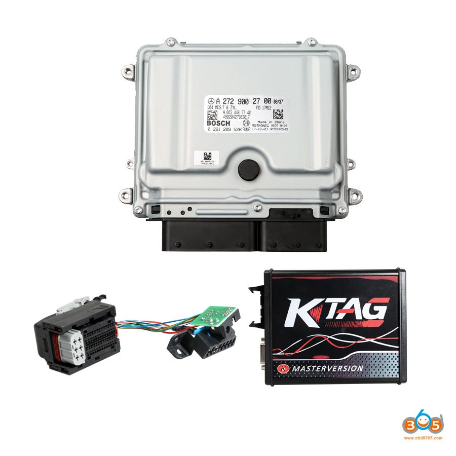 How To Replace And Write Mercedes Me 9 7 Ecu With Ktag Obd365