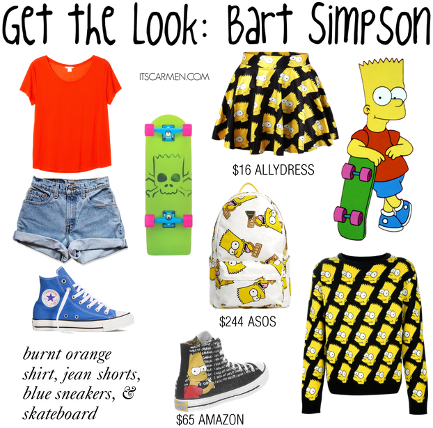 bart simpson outfit