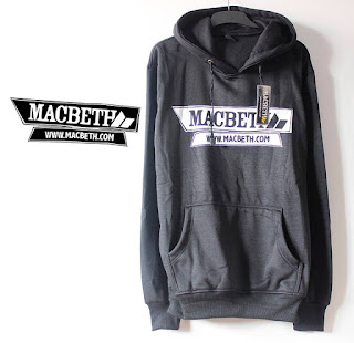 Jaket Fleece Hoodie Macbeth MAC009