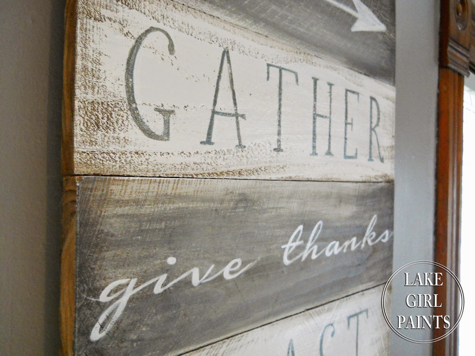 Lake Girl Paints Paint A Sign For Your Dining Room