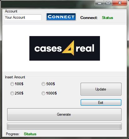 Cases4real hack как сделать вх на кс го через cheat engine