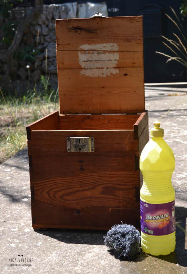 reciclar, reciclaje, caja de madera, estilo industrial, decoracion, diy