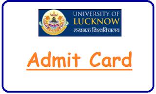 LKO Admit Card 2019