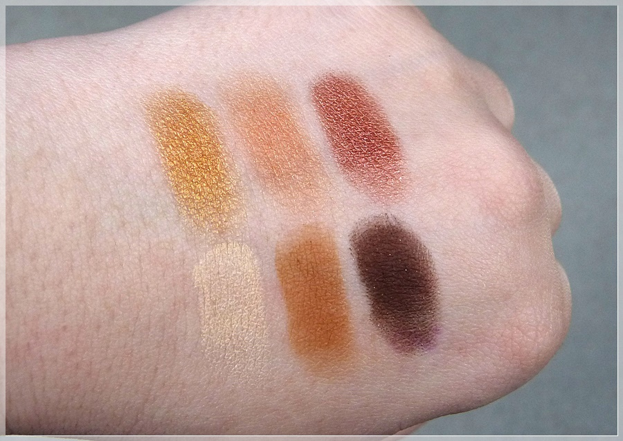 Swatches Vegas Lights Palette
