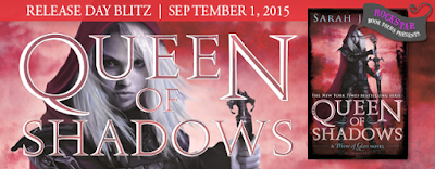 Queen of Shadow Release Day Blitz