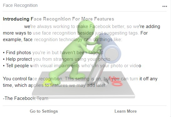 How to Disable Facebook's Face Recognition?