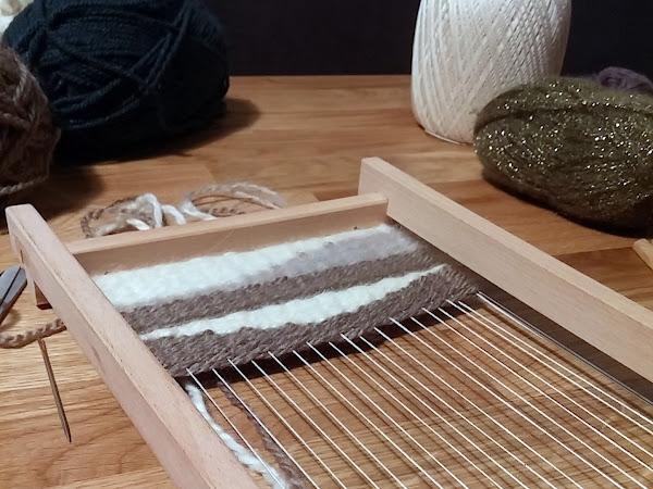 Atelier Creativa #3 : Le tissage suspendu