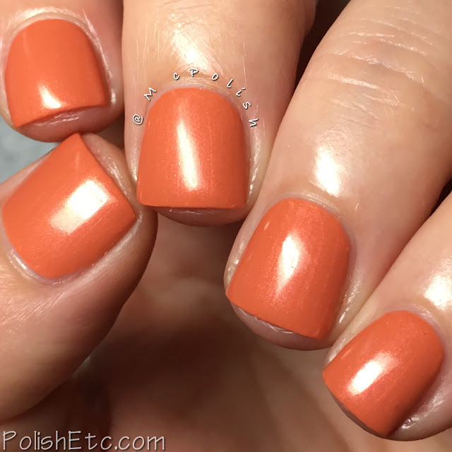 KBShimmer - Fall 2017 Blogger Collaboration Collection - McPolish - Pun-king Spice Latte