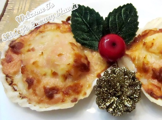 mentaiko scallop xmas recipes
