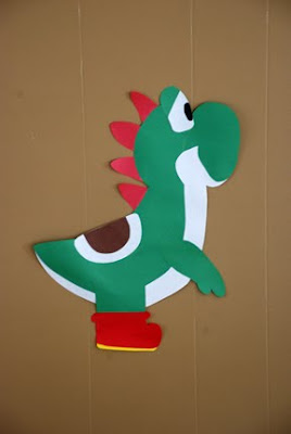Yoshi wall decoration