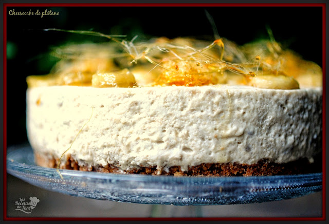 cheesecake de plátano tererecetas 01
