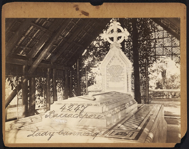 Barrackpore Lady Canning's Tomb - 19th Century