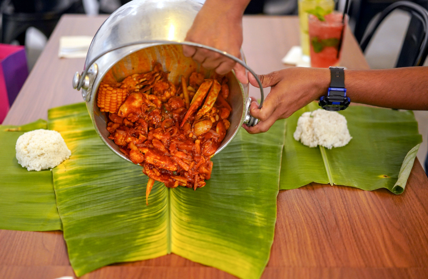 Teekaapi Indian Cuisine, Eco Sky